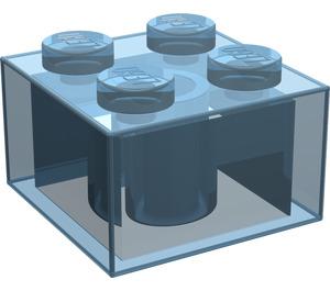 LEGO Transparent Light Blue Brick 2 x 2 (3003 / 6223)