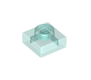 LEGO Transparent Light Blue Plate 1 x 1 (3024 / 28554 / 30008)