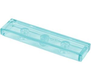 LEGO Transparent Light Blue Tile 1 x 4 (35371 / 91143)