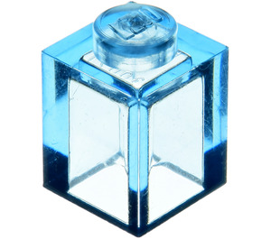 LEGO Transparent Medium Blue Brick 1 x 1 (30071)