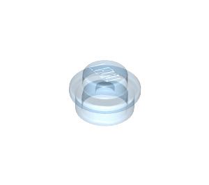 LEGO Transparent Medium Blue Plate 1 x 1 Round (30057 / 34823)