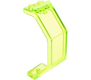 LEGO Transparent Neon Green Panel 3 x 2 x 6 (2466 / 30226)
