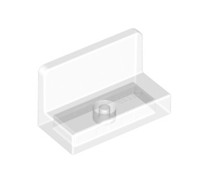 LEGO Transparent Panel 1 x 2 x 1 with Rounded Corners (15714 / 35293)