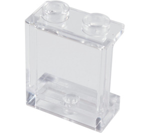 LEGO Transparent Panel 1 x 2 x 2 with Side Supports, Hollow Studs (35378 / 94638)