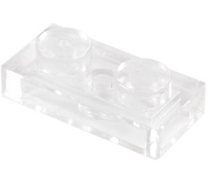 LEGO Transparent Plate 1 x 2 (3023 / 28653)