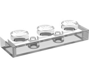 LEGO Transparent Plate 1 x 3 (3623)