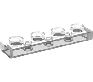 LEGO Transparent Plate 1 x 4 (3710)