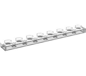 LEGO Transparent Plate 1 x 8 (3460)