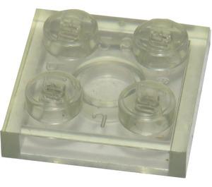 LEGO Transparent Plate 2 x 2 (3022)