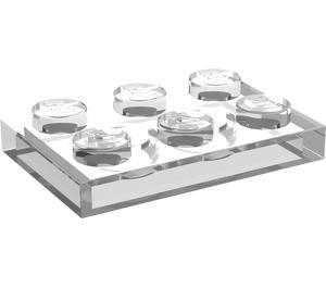 LEGO Transparent Plate 2 x 3 (3021)