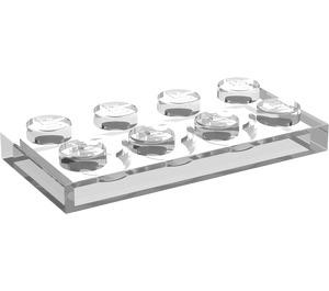 LEGO Transparent Plate 2 x 4 (3020)
