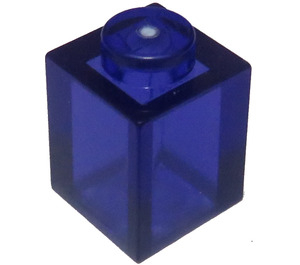 LEGO Transparent Purple Brick 1 x 1 (30071 / 35382)