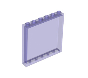 LEGO Transparent Purple Panel 1 x 6 x 5 (35286 / 59350)