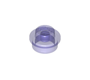 LEGO Transparent Purple Round Plate 1 x 1 (30057 / 34823)