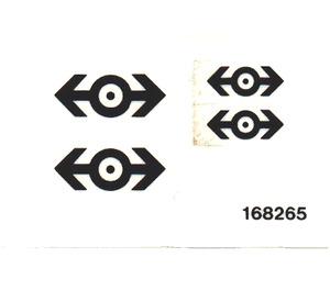 LEGO Transparent Sticker Sheet for Set 4525 / 4544