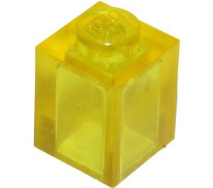LEGO Transparent Yellow Brick 1 x 1 (3005 / 30071)