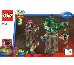 LEGO Trash Compactor Escape Set 7596 Instructions