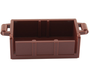 LEGO Treasure Chest Bottom with Slots in Back (4738 / 54195)