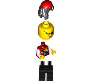LEGO Treasure Island Pirate Princess Minifigure
