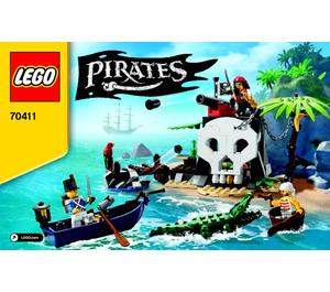 LEGO Treasure Island Set 70411 Instructions