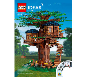 LEGO Tree House Set 21318 Instructions