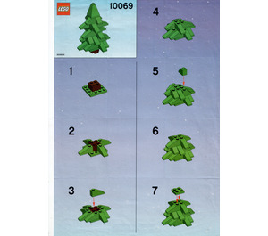 LEGO Tree Set 10069 Instructions