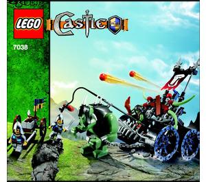LEGO Troll Assault Wagon Set 7038 Instructions