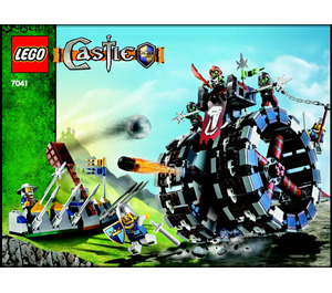 LEGO Troll Battle Wheel Set 7041 Instructions