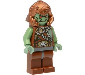 LEGO Troll with Copper Helmet Minifigure