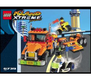 LEGO Truck & Stunt Trikes Set 6739 Instructions
