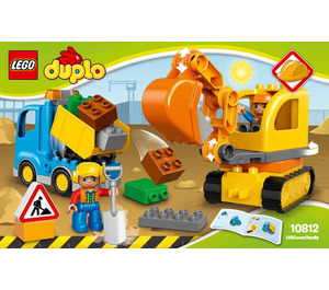 LEGO Truck & Tracked Excavator Set 10812 Instructions