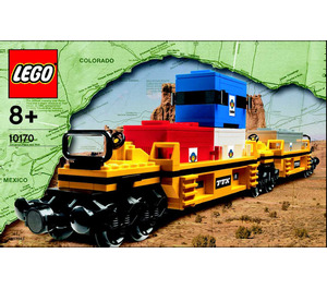 LEGO TTX Intermodal Double-Stack Car Set 10170 Instructions