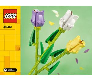 LEGO Tulips Set 40461 Instructions