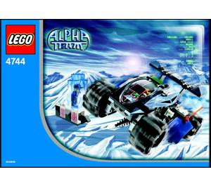 LEGO Tundra Tracker Set 4744 Instructions