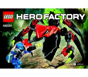 LEGO TUNNELER Beast vs. SURGE Set 44024 Instructions