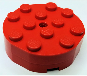 LEGO Turntable 4 x 4 Complete Faceted Old Style