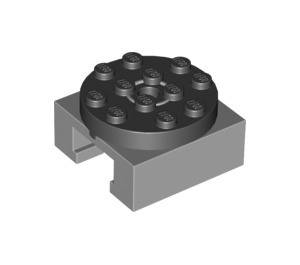 LEGO Turntable Legs with Black Top (30516 / 76514)