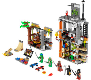 LEGO Turtle Lair Attack Set 79103