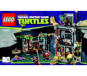 LEGO Turtle Lair Attack Set 79103 Instructions