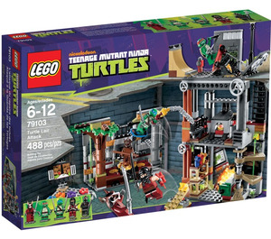 LEGO Turtle Lair Attack Set 79103 Packaging