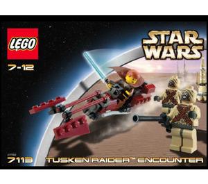 LEGO Tusken Raider Encounter Set 7113 Instructions