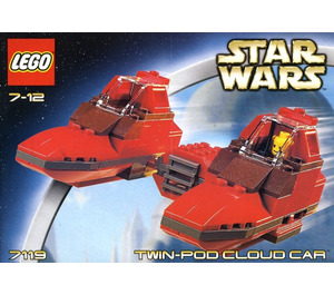 LEGO Twin-Pod Cloud Car Set 7119