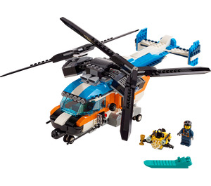 LEGO Twin-Rotor Helicopter Set 31096