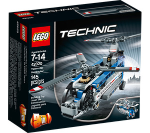 LEGO Twin rotor helicopter Set 42020 Packaging