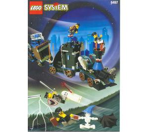 LEGO Twisted Time Train Set 6497