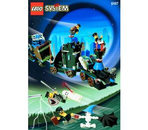 LEGO Twisted Time Train Set 6497 Instructions