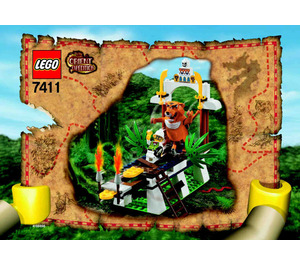 LEGO Tygurah's Roar Set 7411 Instructions