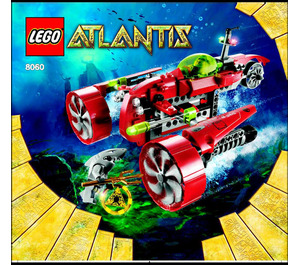 LEGO Typhoon Turbo Sub Set 8060 Instructions