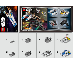 LEGO U-Wing Fighter Set 30496 Instructions