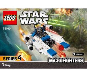 LEGO U-wing Microfighter Set 75160 Instructions